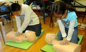 first aid training for teenagers
